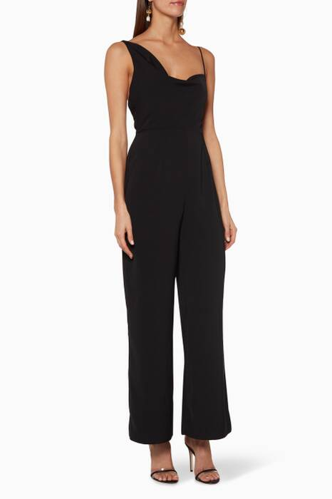 Black Be Mine Jumpsuit