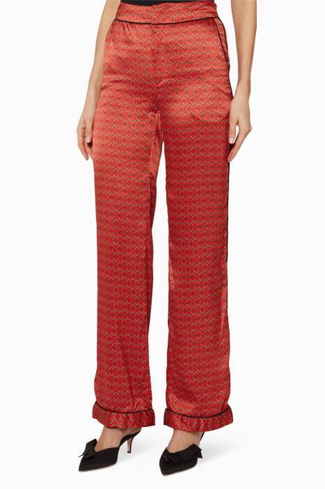 Lava Red-Sand Desert Tiles Florinda Pants