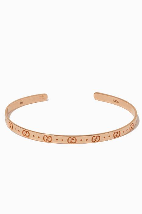 Rose-Gold Icon Bracelet