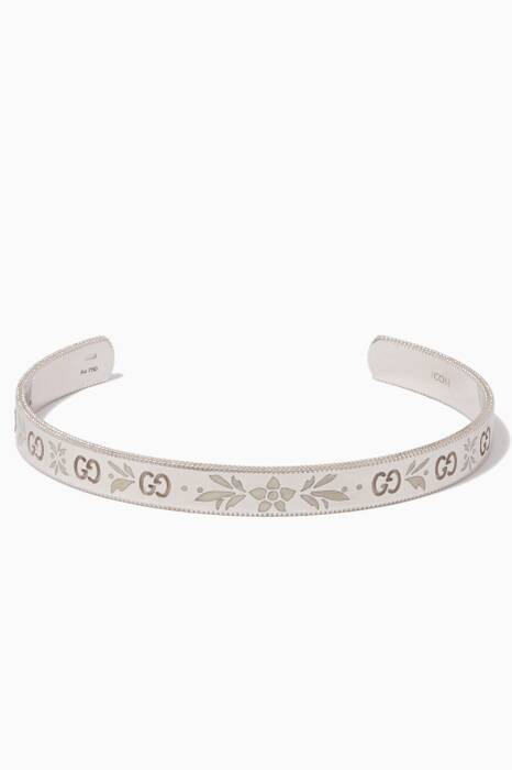 White-Gold Icon Blossom Bracelet
