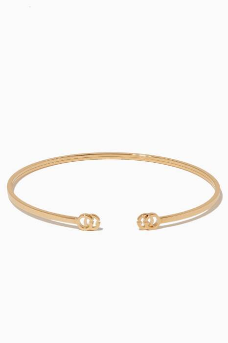 Yellow-Gold Double G Extra-Small Cuff