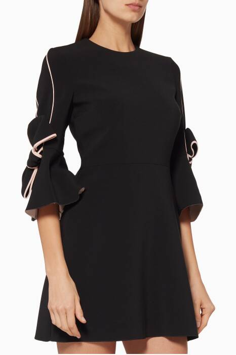 Black Harlin Mini Dress