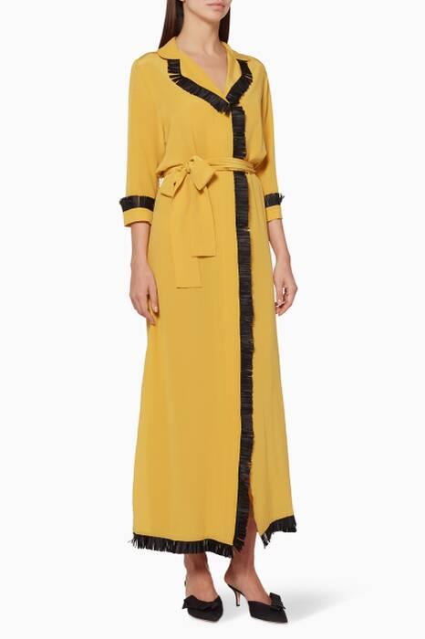 Yellow Fringed Simbala Dress