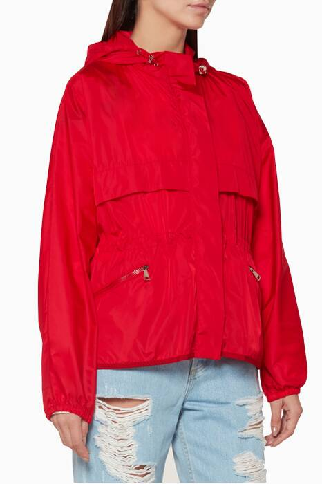 Red Jais Jacket