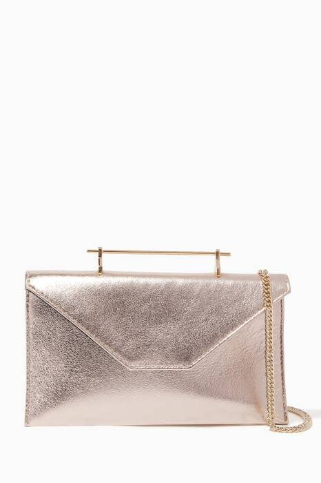 Gold Mini Annabelle Shoulder Bag