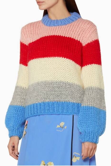 Multi-Coloured Striped The Julliard Sweater