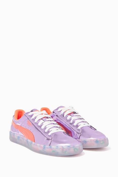 Lilac Basket Candy Princess Sneakers