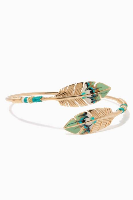 Multi-Coloured Duality Penna Enameled Bangle
