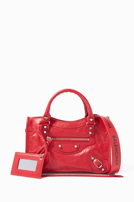 Red Classic Mini City Arena Tote Bag