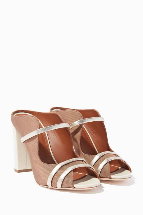 Brown Maureen Block-Heel Sandals