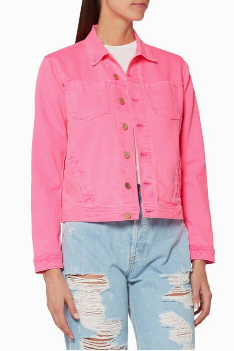Pink Celine Denim Jacket