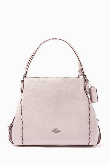 Ice-Pink Edie 31 Shoulder Bag