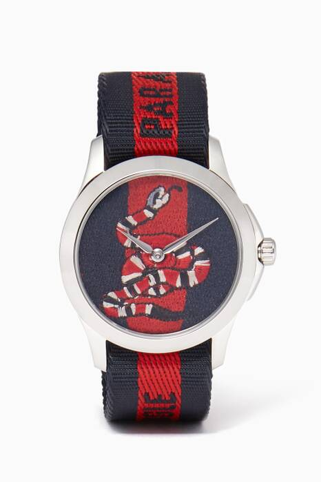 Red & Blue Serpent Le Marché des Merveilles Watch