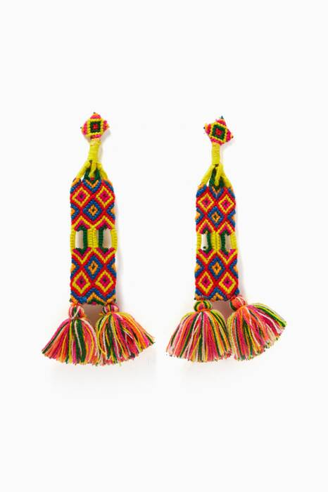 Multi-Coloured Aitana Earrings