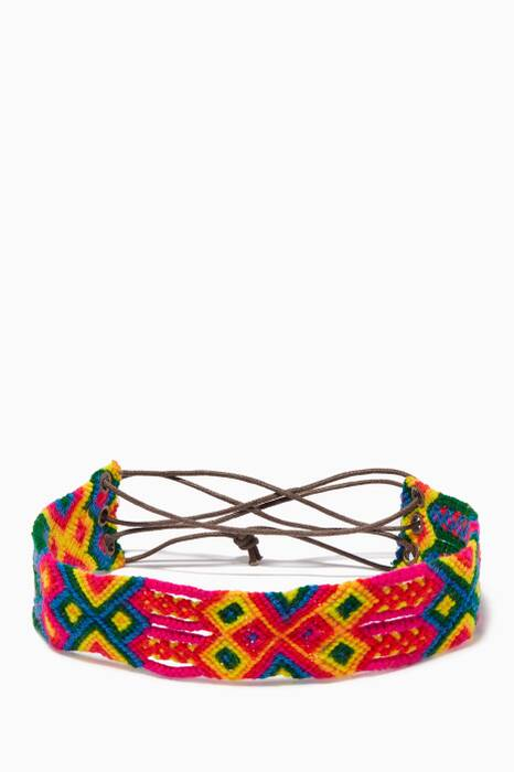 Multi-coloured Belice Choker