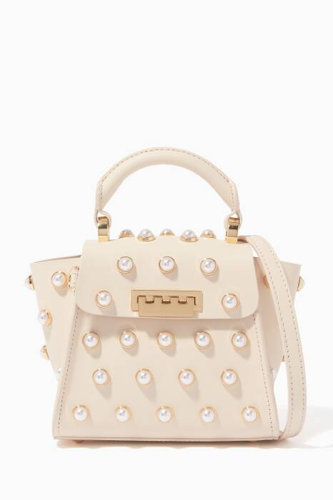 Off-White Eartha Embellished Mini Top Handle Bag