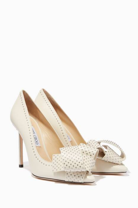 Chalk Studded Tegan 100 Pumps