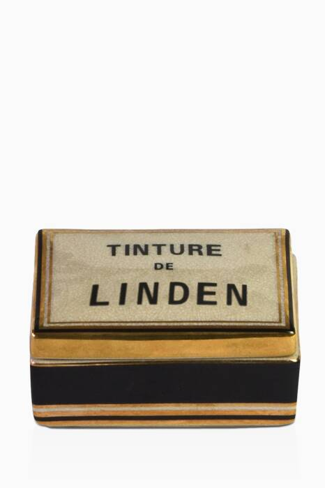 Tinture De Linden Small Ceramic Candle