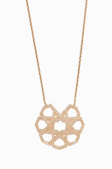 Yellow-Gold & Diamond Necklace