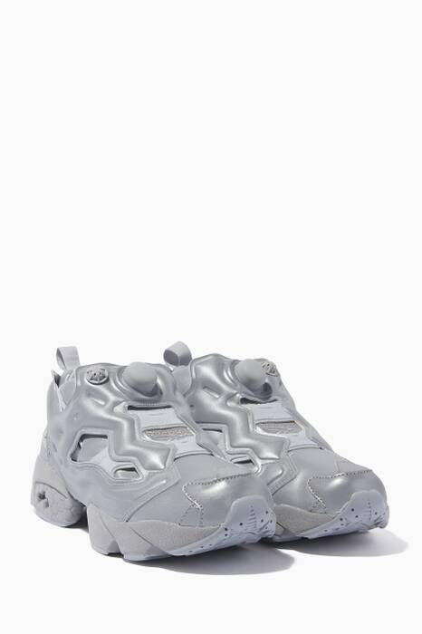 Vetements X Reebok Reflective Instapump Fury Sneakers