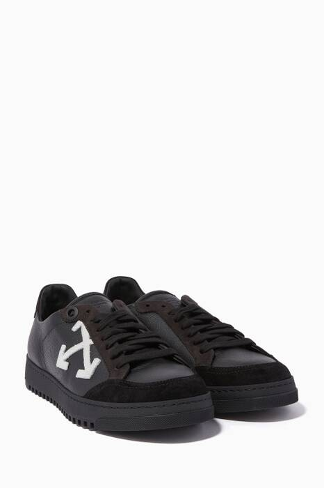 Black Arrow Low-Top Sneakers
