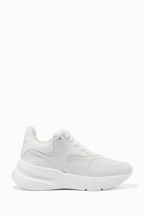 White Show Runner Sneakers