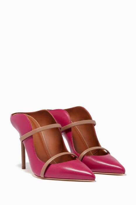 Orchid Maureen Leather Mules