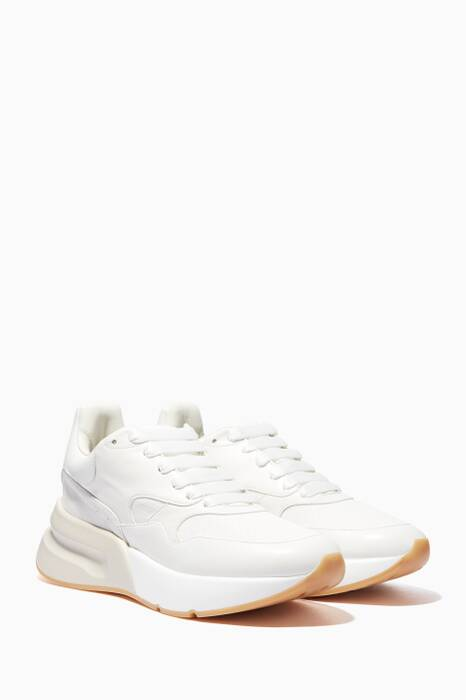 Milk-White Larry Runner Sneakers