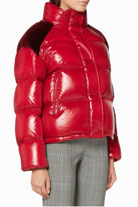 Red Chouette Padded Jacket