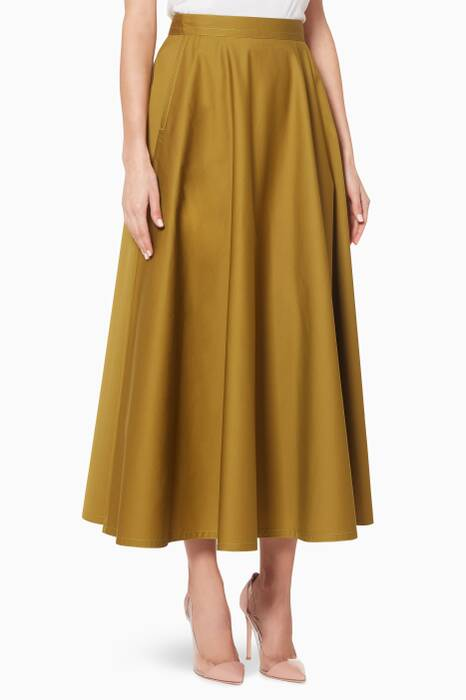 Chamomile-Green Skirt