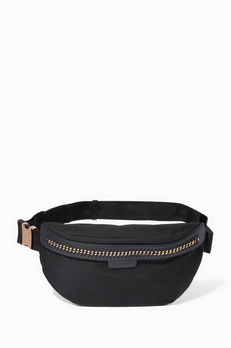 Black Mini GO Falabella Belt Bag