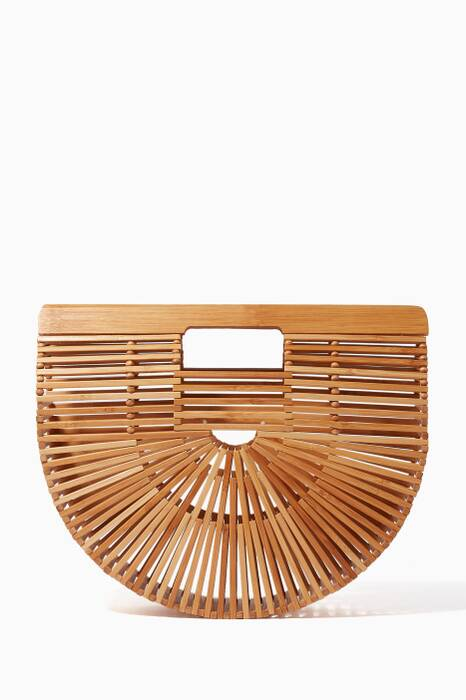 Bamboo-Tan Small Bamboo Ark Bag