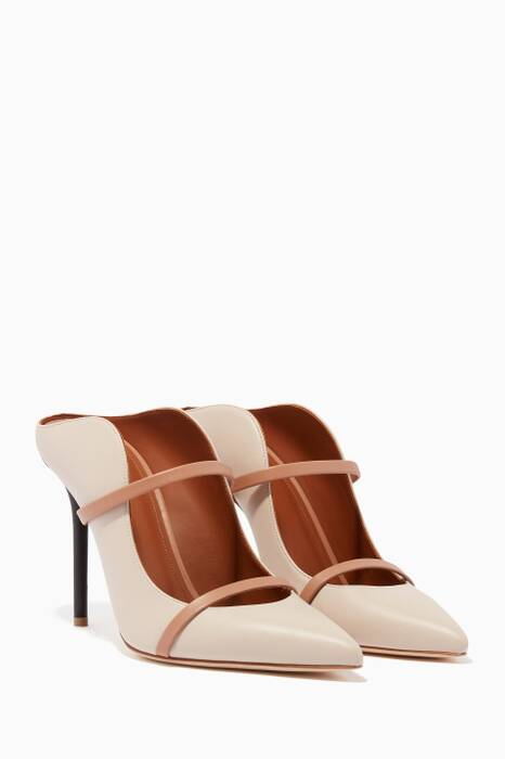 Ice & Nude Maureen Leather Mules