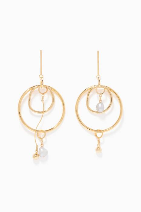 Gold Dusk Earrings