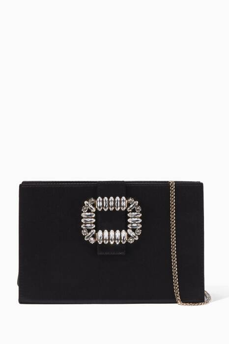 Black Sexy Choc Rigid Clutch