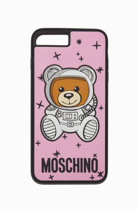 Pastel-Pink Teddy iPhone® 8 Plus Cover