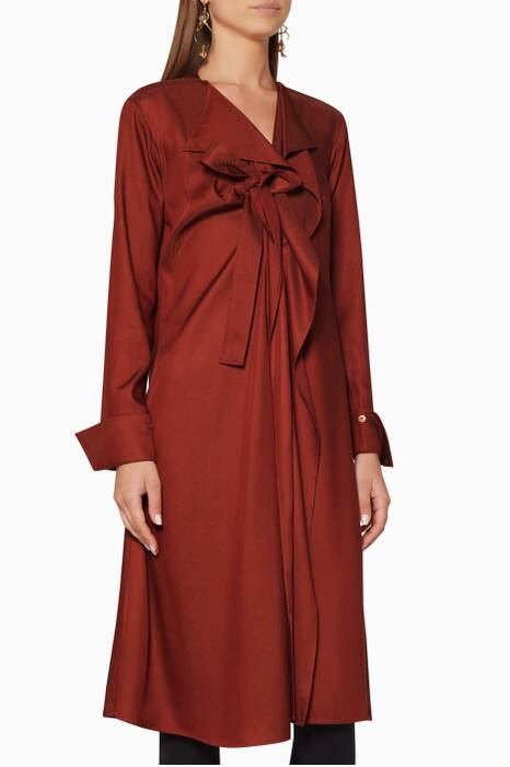 Burgundy Dusk Shirtdress