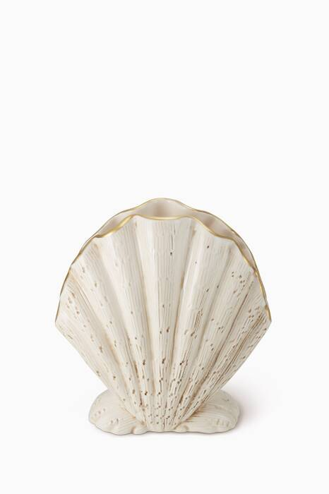 Gold Amelie Shell Vase
