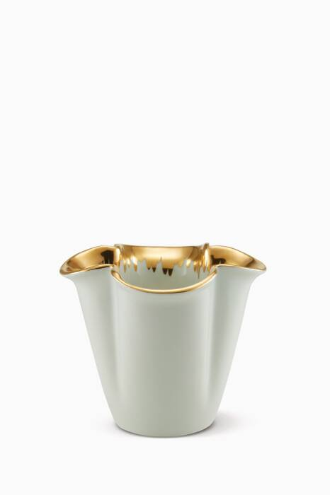 Gold Bellamy Clover Small Vase