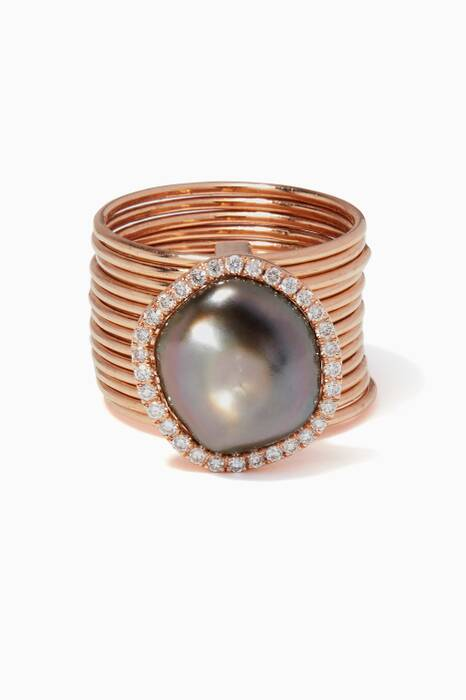 Rose-Gold Ouranos Ring