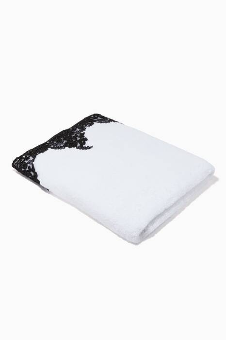 Black & White Anabella Bath Towel
