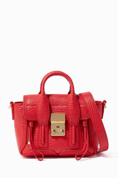 Red Nano Pashli Satchel