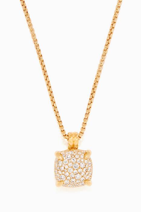 Yellow-Gold & Diamond Chatelaine® Pendant Necklace