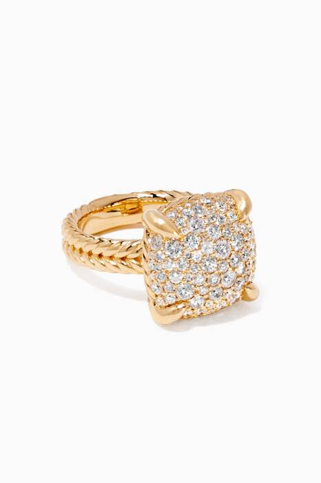 Yellow-Gold & Chatelaine® Diamonds Ring