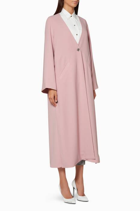 Light-Pink Master Plan Trench Coat