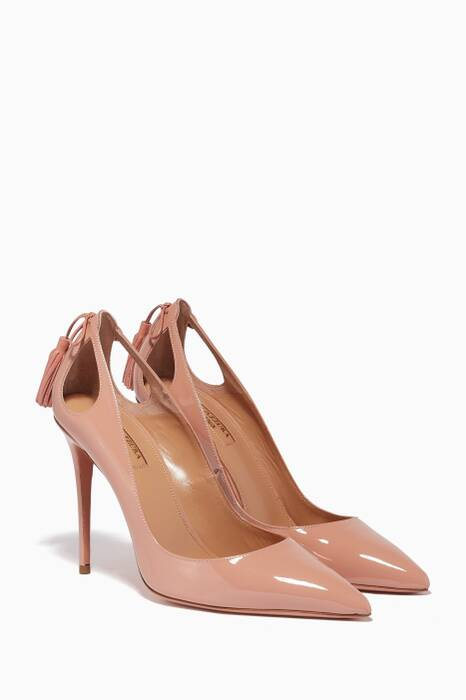 Light-Pink Forever Marilyn Patent Pumps