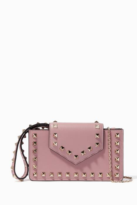 Light-Pink Rockstud Smartphone Case