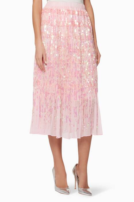 Light-Pink Angel Dribble Skirt