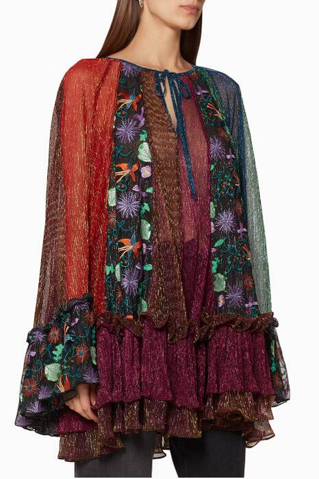 Multi-Coloured Disco Garden Tunic