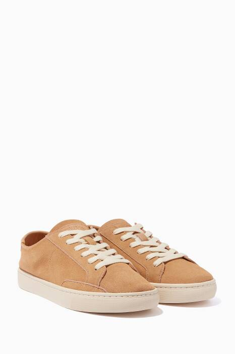 Brown Suede Ibiza Sneakers